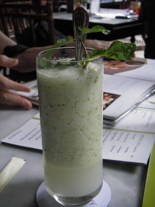 Lychee & Mint Smoothie