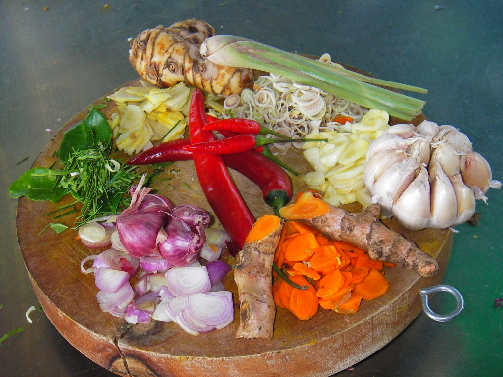Kroeung Khmer Curry Paste