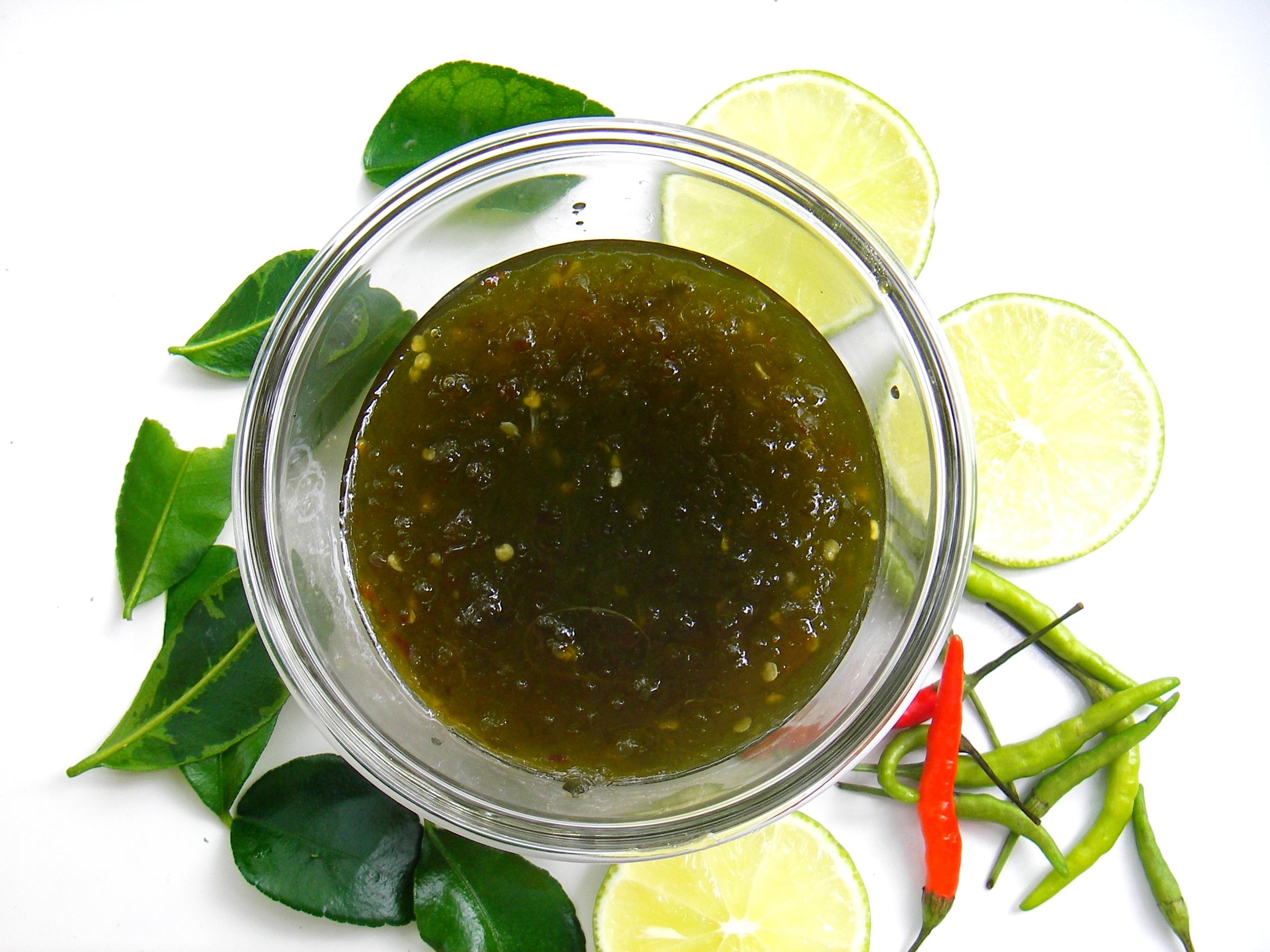 Thai Lime-Green Chili Jam Recipe~ | Pranee's Thai Kitchen
