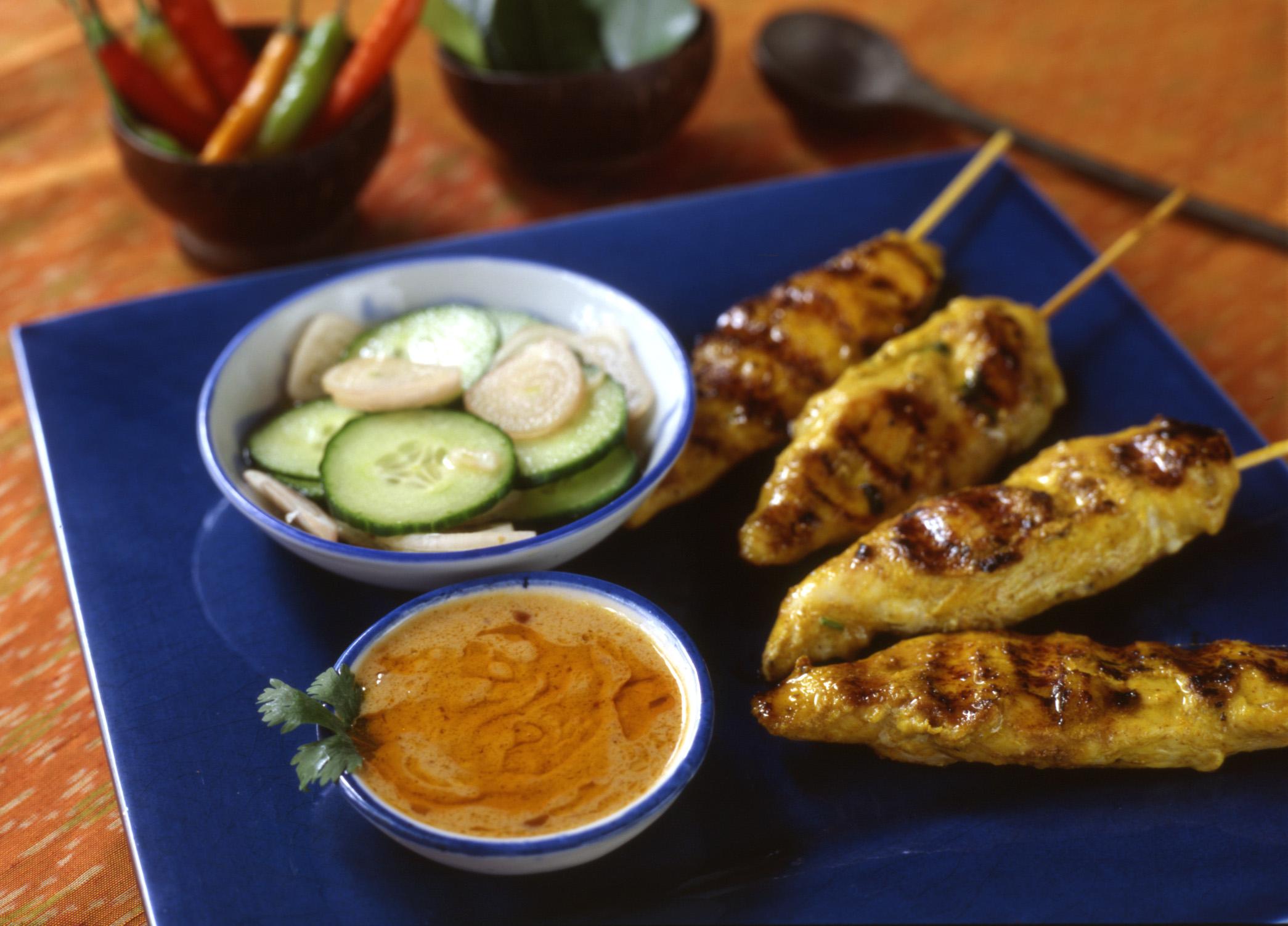 Menu pranees thai kitchen pranees chicken satay forumfinder Images