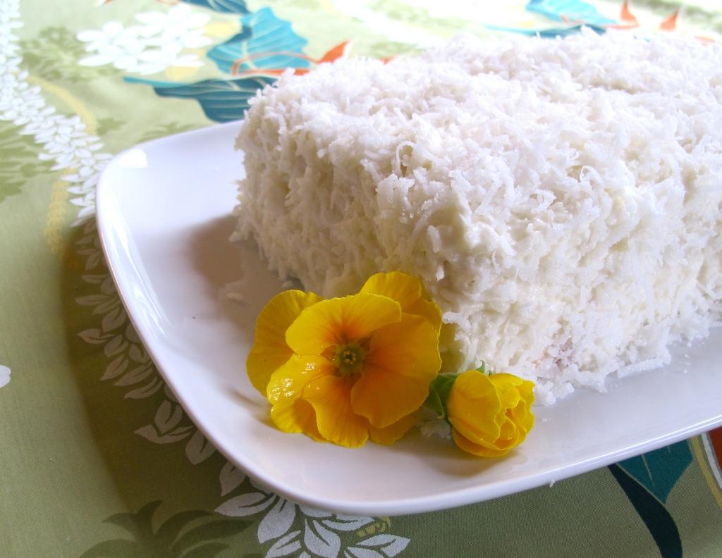 Thai Coconut Layer Cake Recipe