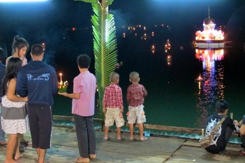Loi Kratong Festival in Phuket