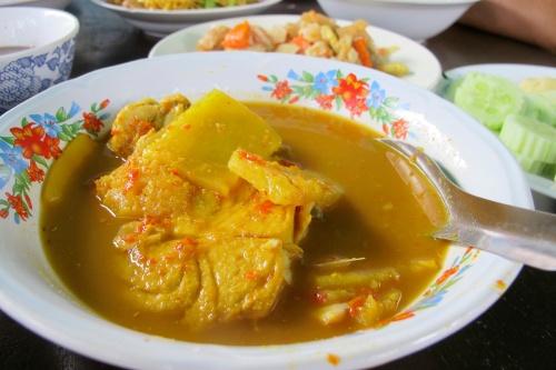 Gaeng Som Pla - แกงส้มปลา -  Sour Curry Fish
