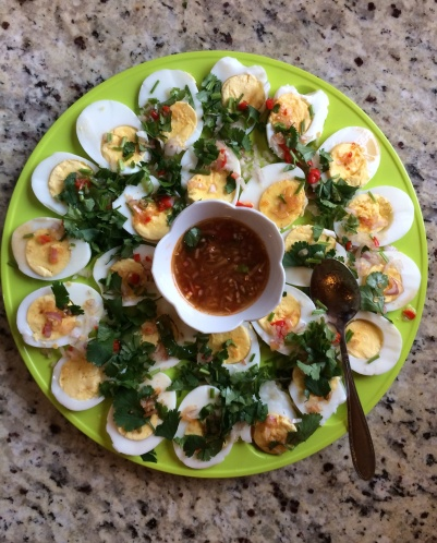 Hard-Boiled Eggs Salads - Yum Khai Tom