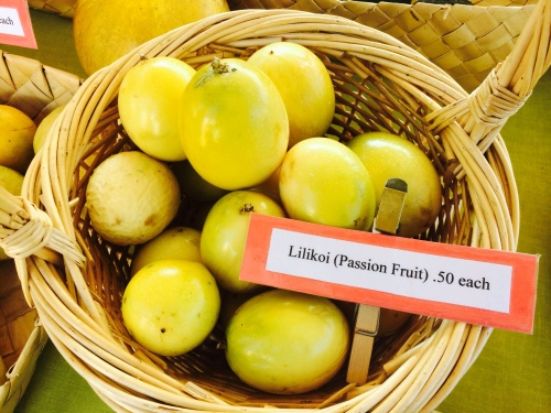 Passion Fruit at Kona Farmer Market