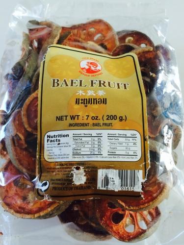 Dry-Sliced Bael Fruit