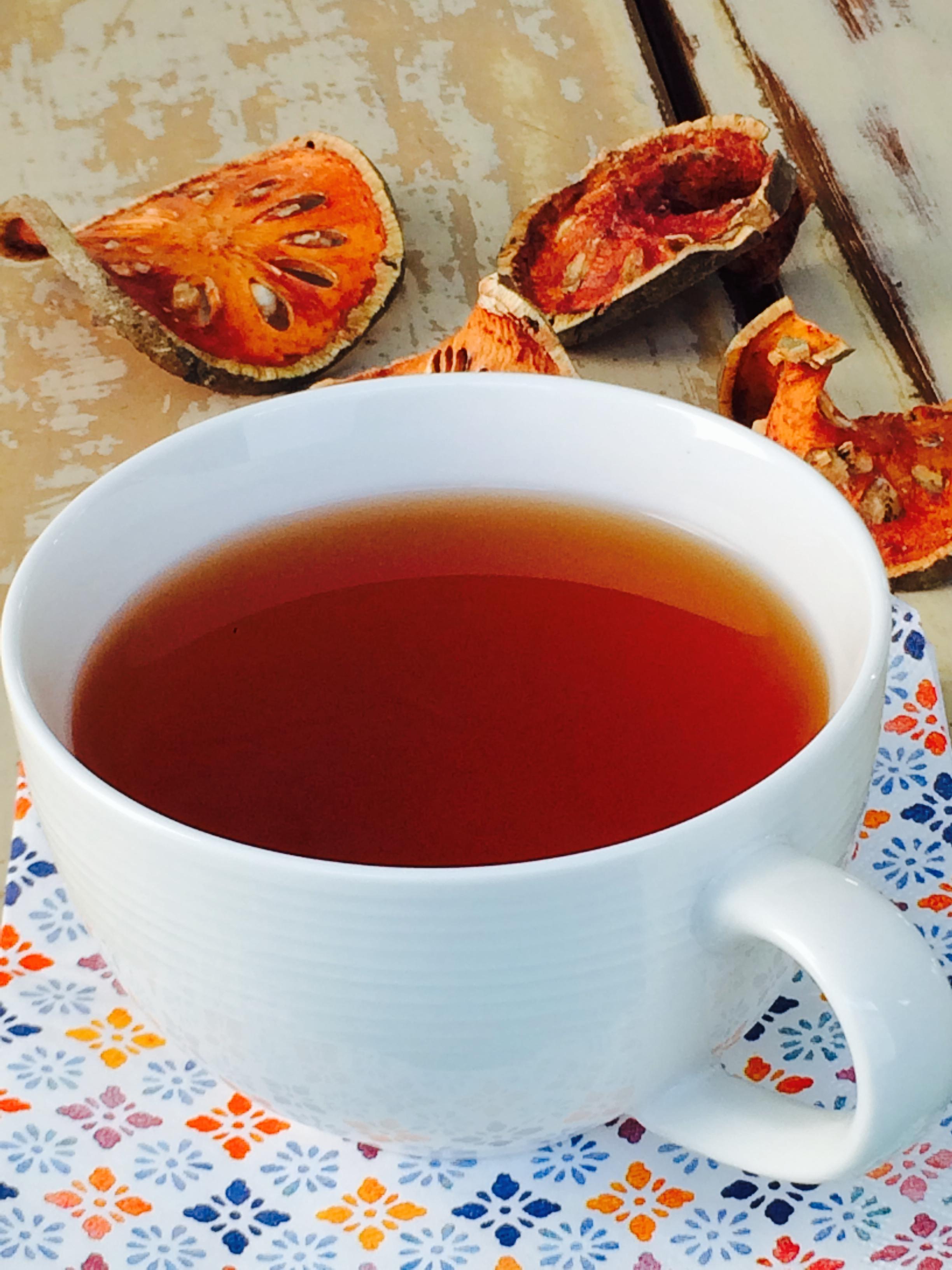 ~Bael Fruit Tea Recipe- Cha Matoom – ชามะตูม~