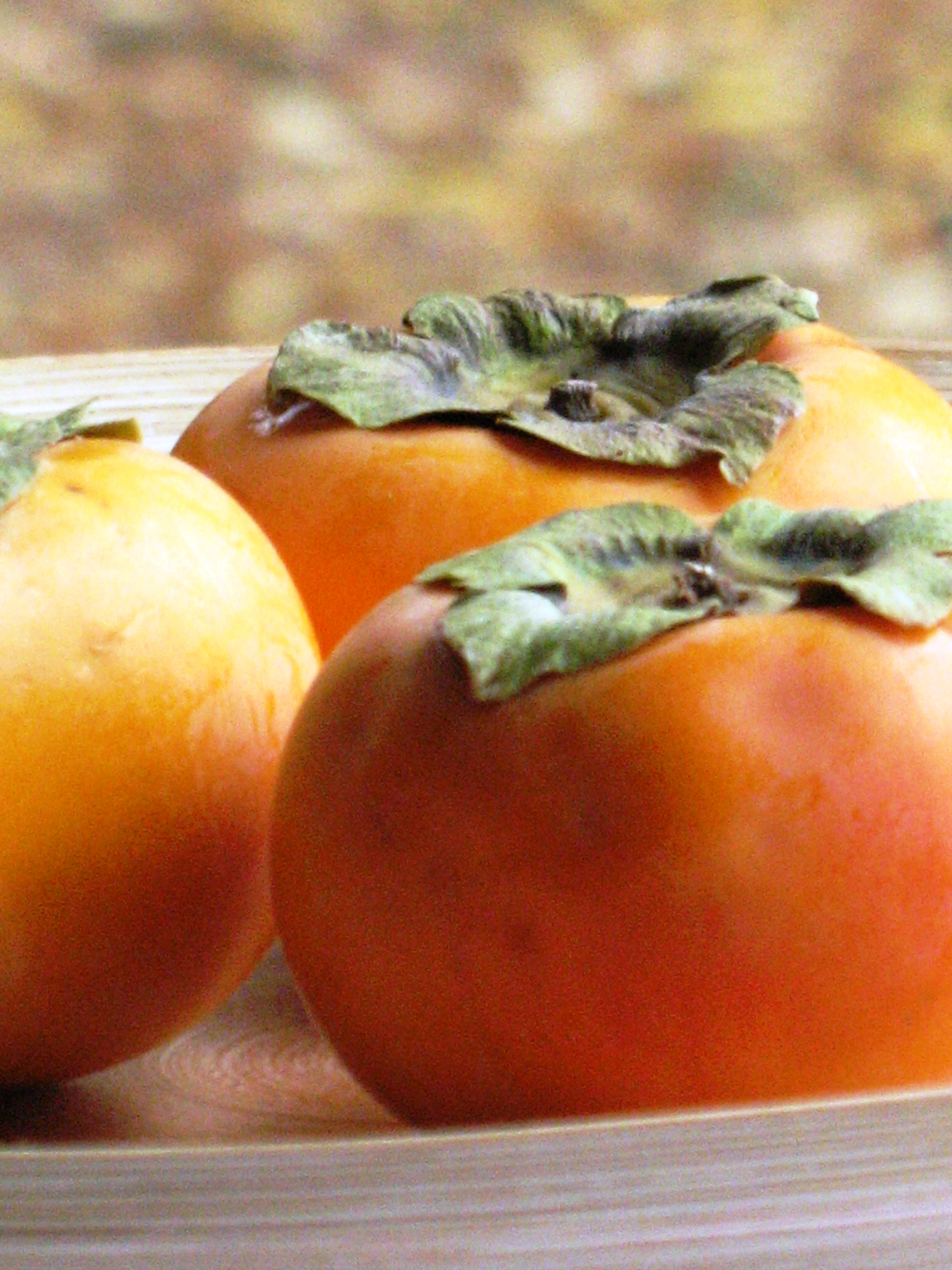 fruit lady persimmons fruit