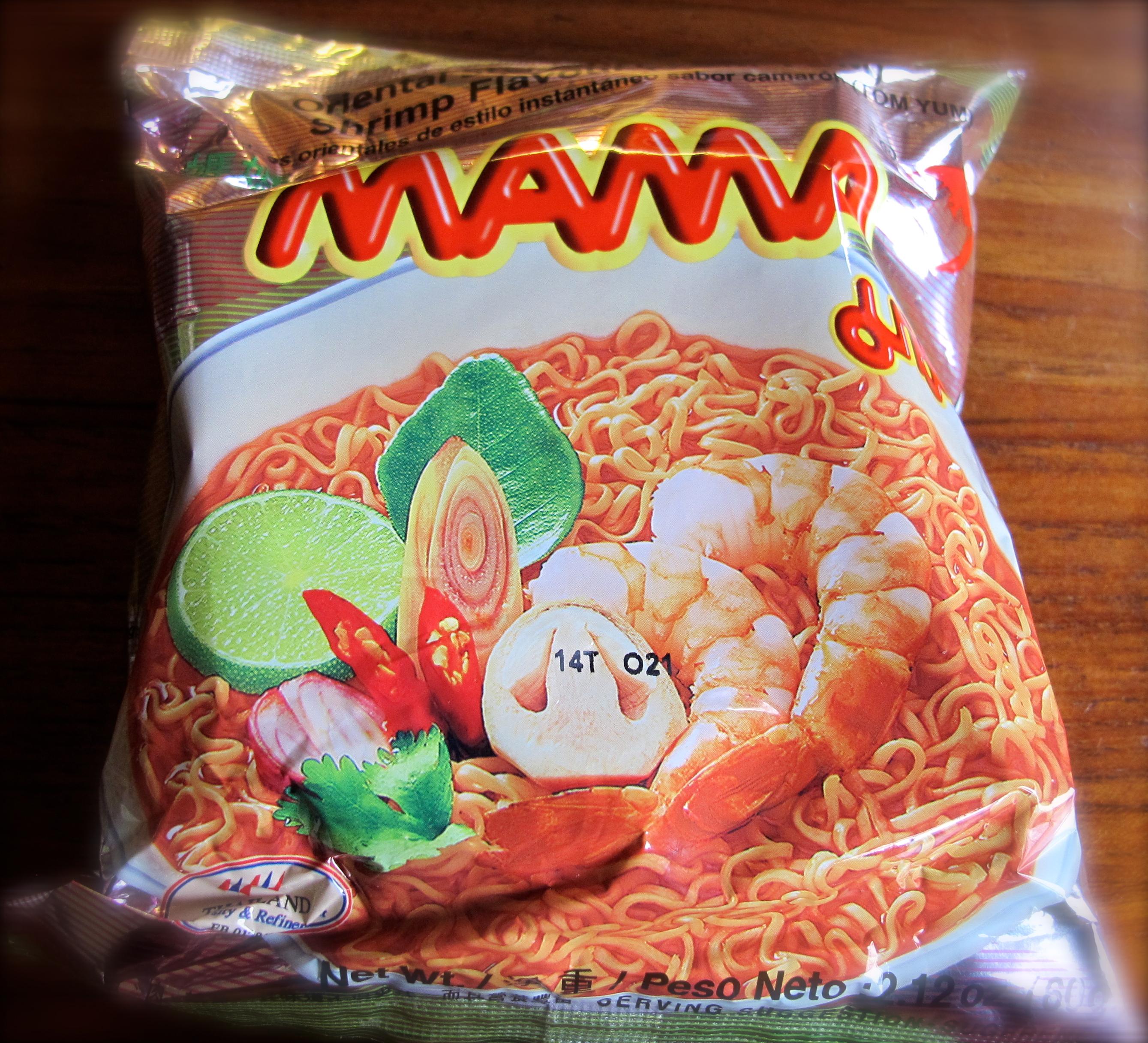 Thai snack street food recipe pranees thai kitchen oriental style instant noodles shrimp flavour tom yum forumfinder Gallery