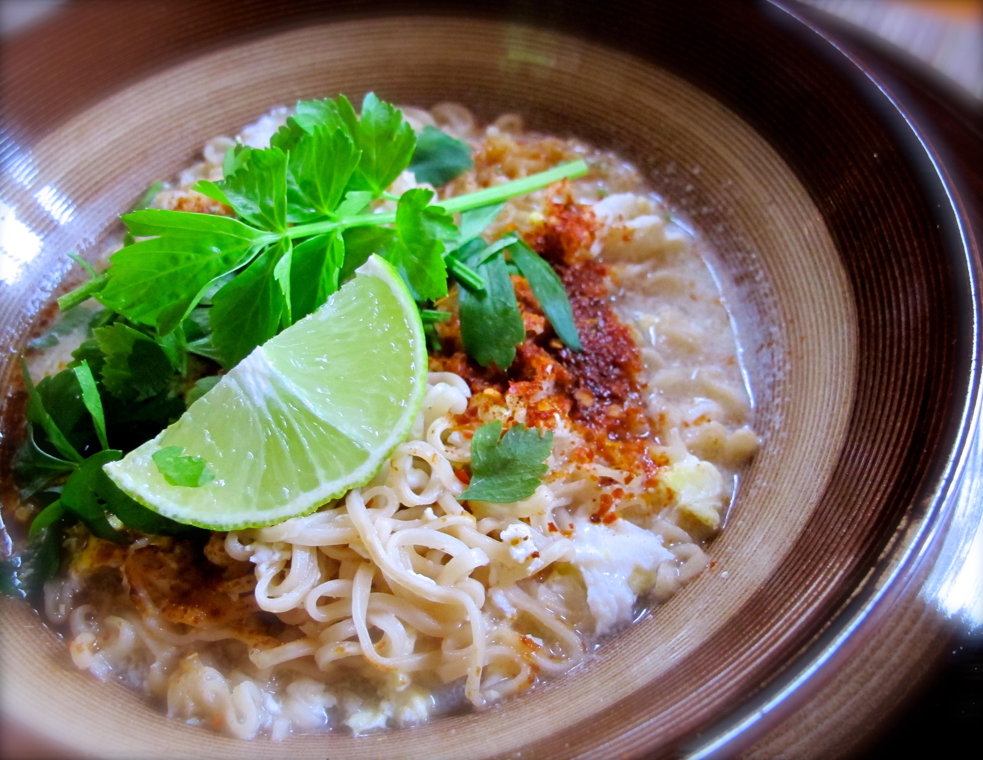 Tom Yum Mama Noodle Soup Recipe ต้มยำบะหมี่มาม่า