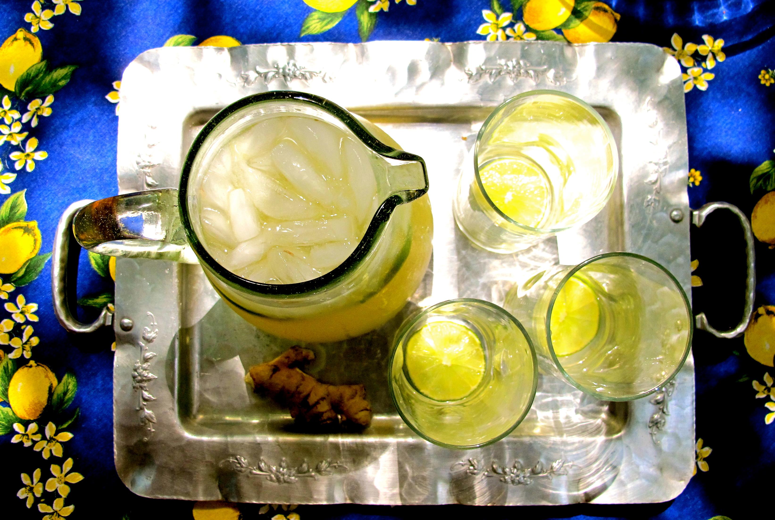 Ginger Limeade Recipe~