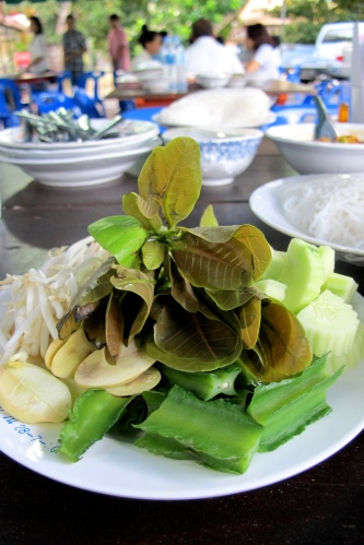 vegetable accompaniment - ผัก เก็ด)