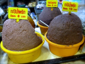 Kapi Nam Prik - กะปิน้ำพริก & Kapi Gaeng - กะปิแกง