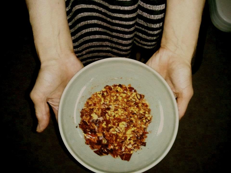 ~Thai Chili Powder Recipe, พริกป่นคั่ว~
