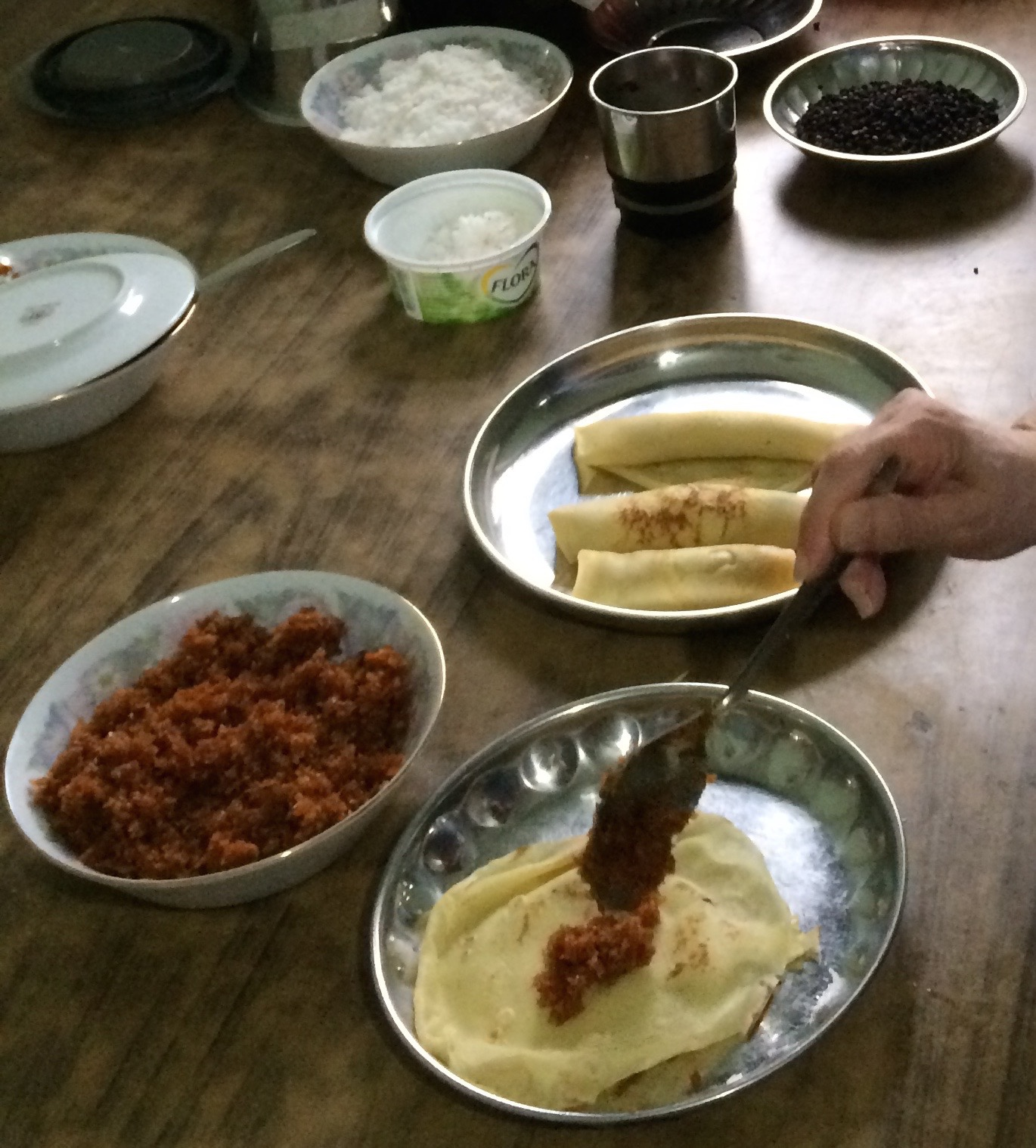 ~Caramel Grated Coconut – Sai Maprow -ไส้มะพร้าว – Nah Maprow – หน้ามะพร้าว~