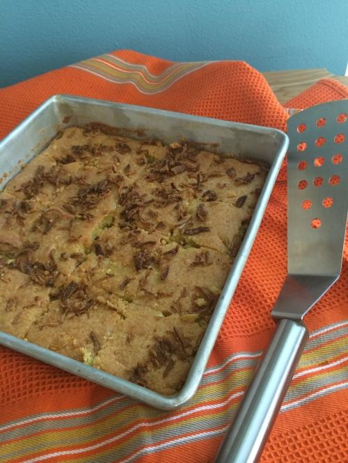 Freshly Baked Khanom Mor Geng - ขนมหม้อแกงถั่ว